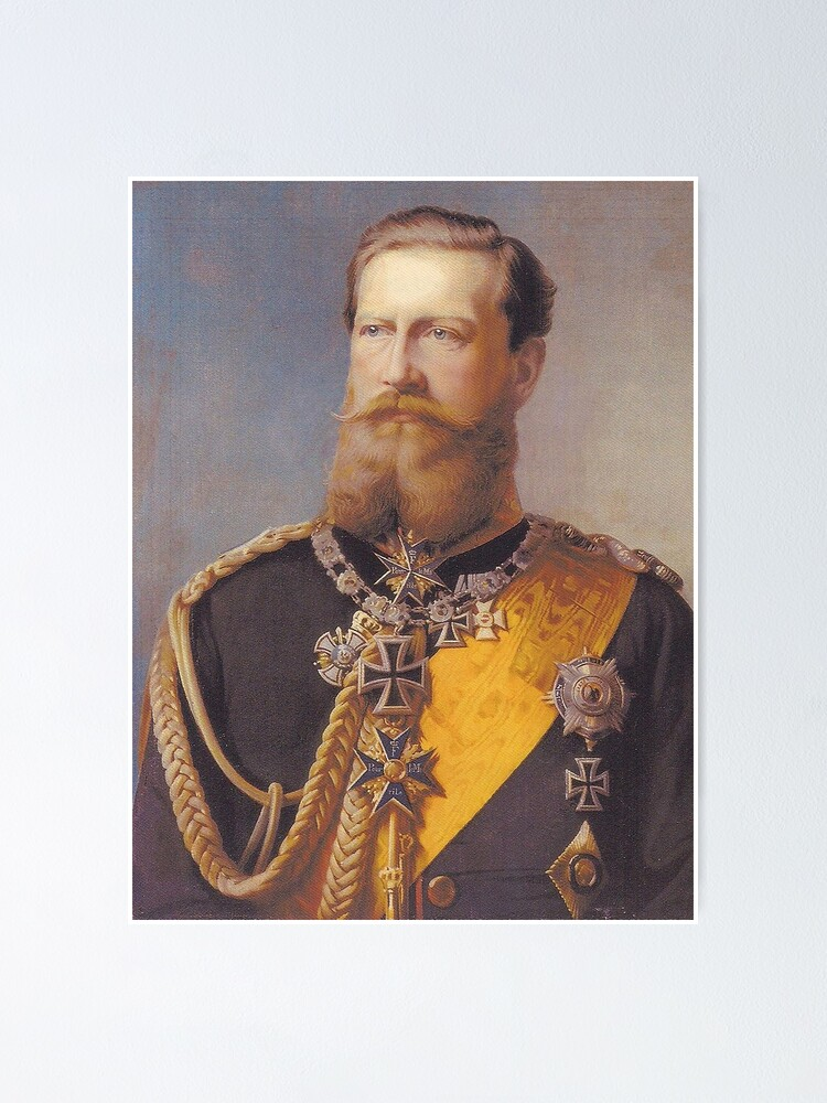 Alternate view of Kaiser Friedrich III Poster