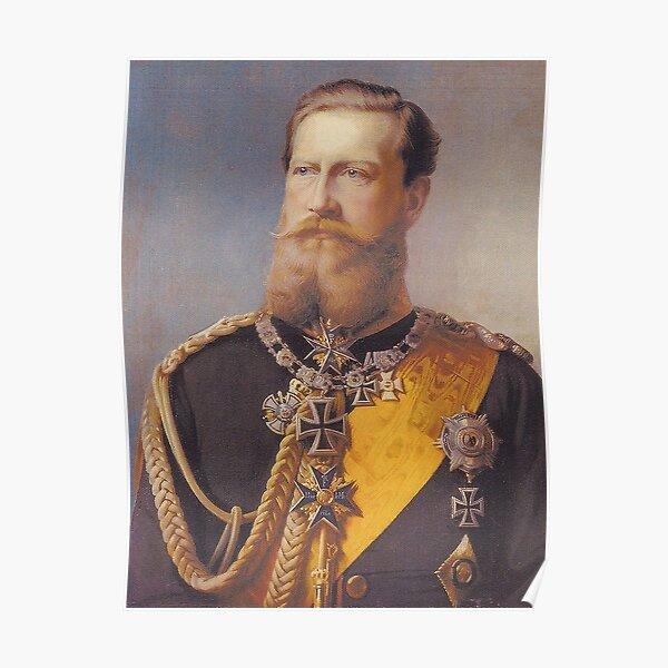 Kaiser Friedrich III Poster