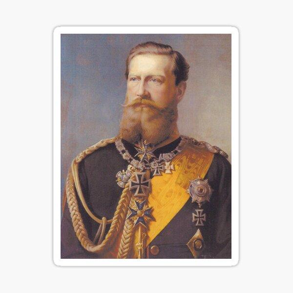 Kaiser Friedrich III Sticker