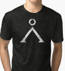 Stargate Grunge Tri-blend T-Shirt