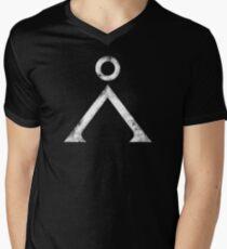 Stargate Grunge Men's V-Neck T-Shirt