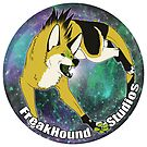 FreakHound Studios Sticker by Yellowfr3ak