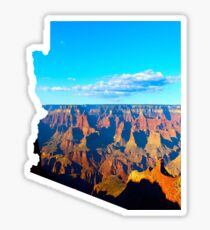 Pegatina Arizona con Grand Canyon