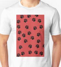 Paw Prints Unisex T-Shirt