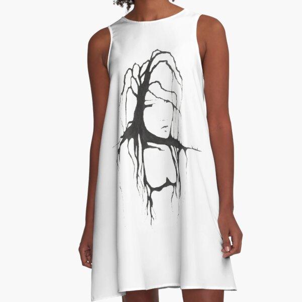 Willow Tree A-Line Dress