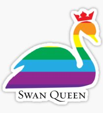 Swan Queen Pride Sticker
