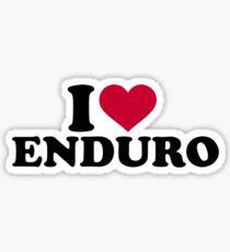 I love Enduro Sticker