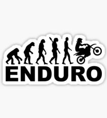 Evolution Enduro Sticker