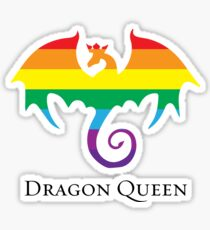 Dragon Queen Pride Sticker