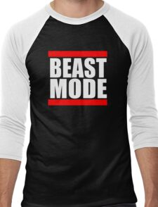 Beast mode Men's Baseball ¾ T-Shirt