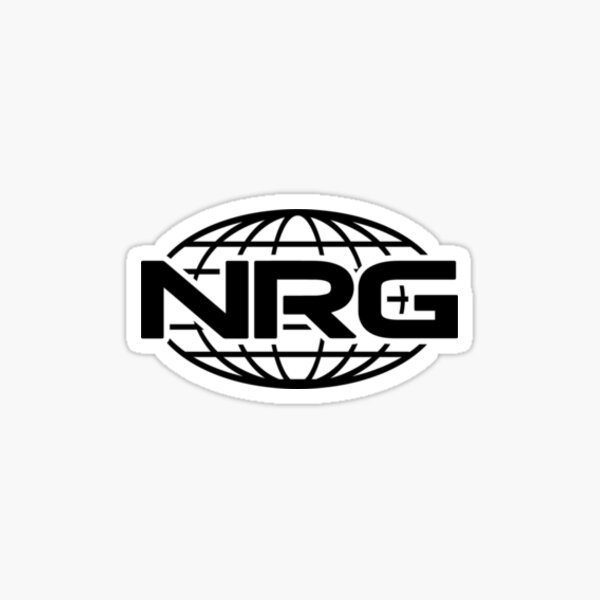 NRG Esport Logo Sticker