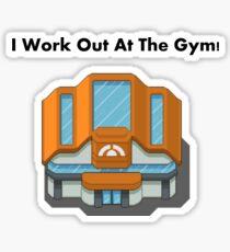 Pokemon Gym Sticker