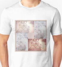 Light Vintage Dream. Square Polyptych Unisex T-Shirt