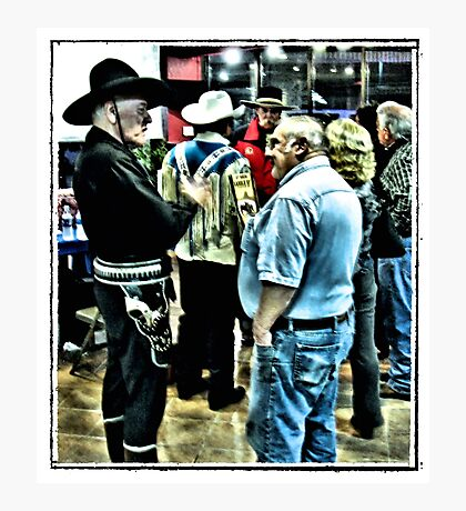 """Cowboys 'N' Friends""... prints and products Photographic Print"