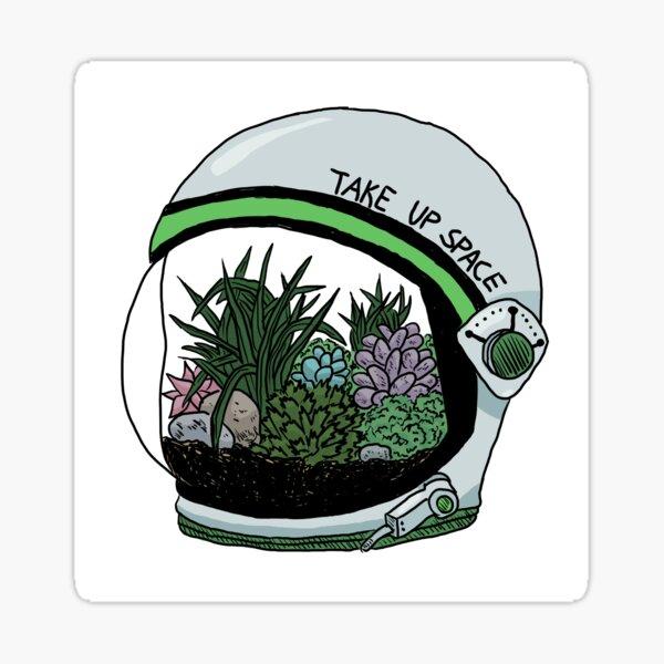 Take Up Space Sticker