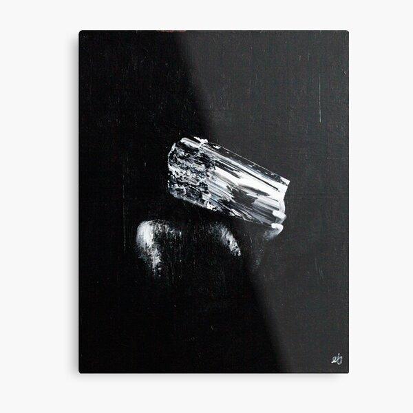 Negative Space Metal Print