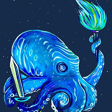 RPG Octopus by brianbarnardart