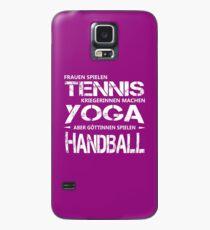 Funda/vinilo para Samsung Galaxy Diosas juegan balonmano