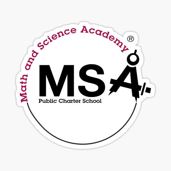 MSA PTO Logo Transparent Background Sticker