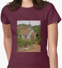 Unique Church Womens Fitted T-Shirt