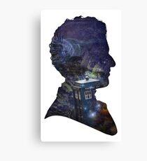 Space & Capaldi Canvas Print