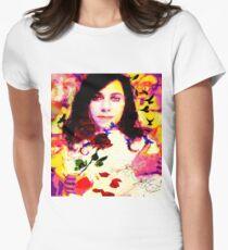 THE LAST LIVING ROSE P J HARVEY Women's Fitted T-Shirt