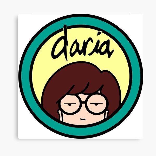 Daria hair bow clip rockabilly pin up girl geek retro vintage sick sad world