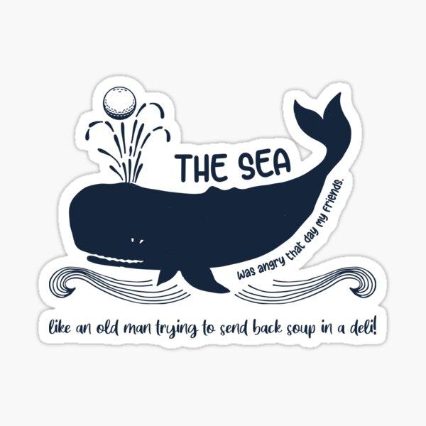Der Meeresbiologe Sticker