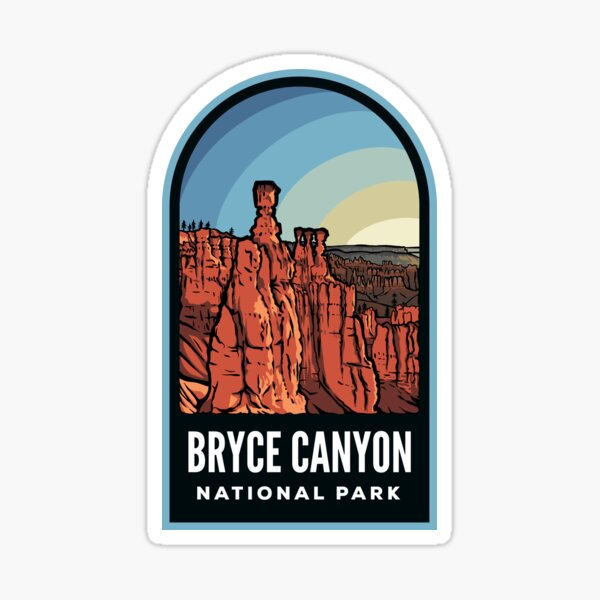 Bryce Canyon National Park Badge Sticker