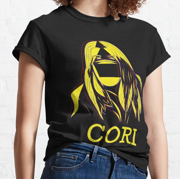 Squad CORI - Yellow on Black Classic T-Shirt