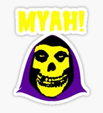 Skeletor-Misfits Composite Sticker