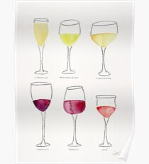 Wine Collection Poster