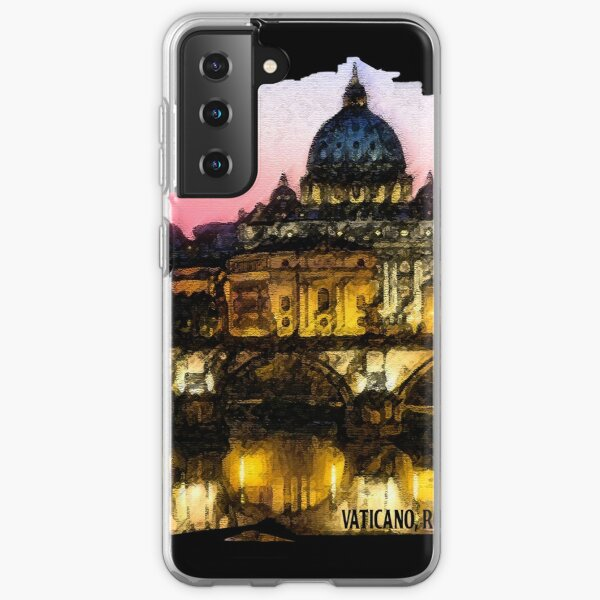 A look at Rome, the Vatican in the background ... Samsung Galaxy Soft Case