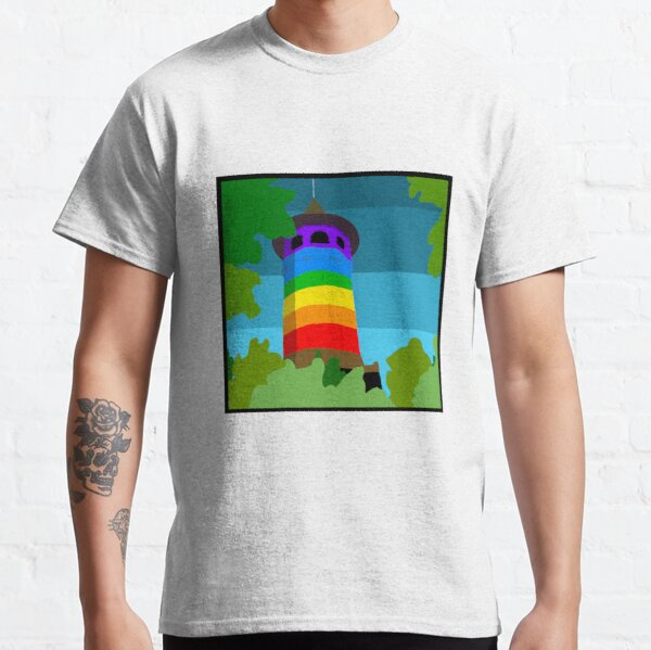 Witch's Hat Tower Pride Classic T-Shirt