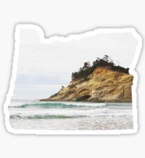 OR- Pacific City Sticker
