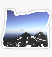 OR- South Sister Summit Sticker