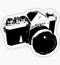 Nikon F Sticker