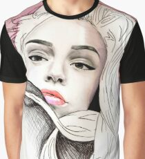 Maggie Lindemann Drawing / art pencil Graphic T-Shirt