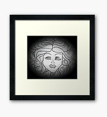 Madame Leota (Haunted Mansion Drawing) Framed Print