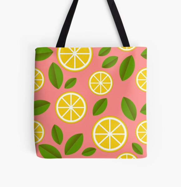 Life gave us lemons, let's make lemonade All Over Print Tote Bag