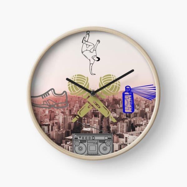 Hip Hop Classics Clock