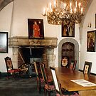 Salle à manger - Château de Chimay - Belgique by Gilberte