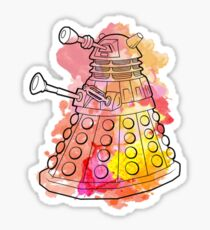 Dalek Watercolour Sticker