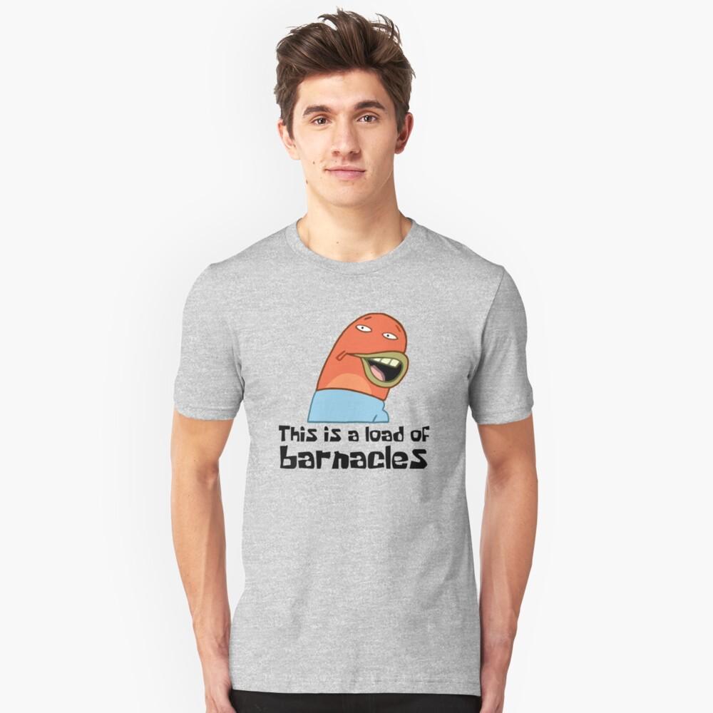 Esta es una carga de lapas - Bob Esponja Camiseta ajustada