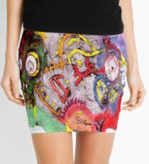 Scull mix Mini Skirt