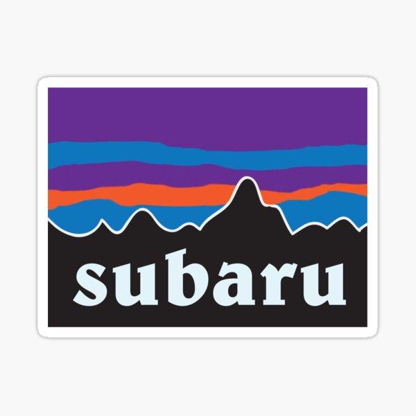subaru outdoors logo Sticker