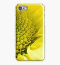 yellow daisy macro iPhone Case/Skin