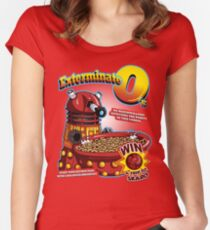 Exterminate O's Women's Fitted Scoop T-Shirt