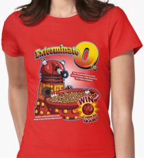 Exterminate O's Women's Fitted T-Shirt