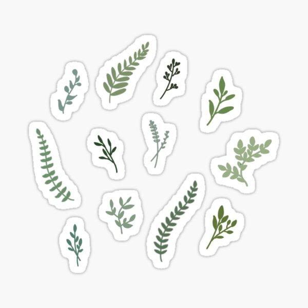 botanical stickers Sticker